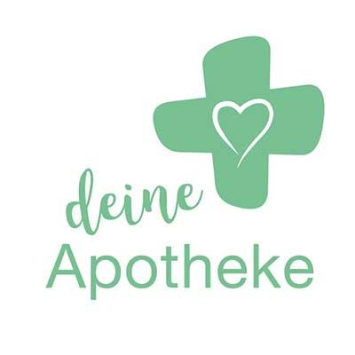 """Logo von """"deine Apotheke"""" - der App zur Arzneimittelvorbestellung"""
