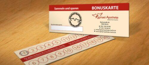 Bonuskarte – Punkte sammeln lohnt sich!