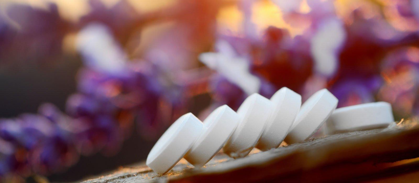 Symbolfoto zeigt Schüßler-Tabletten