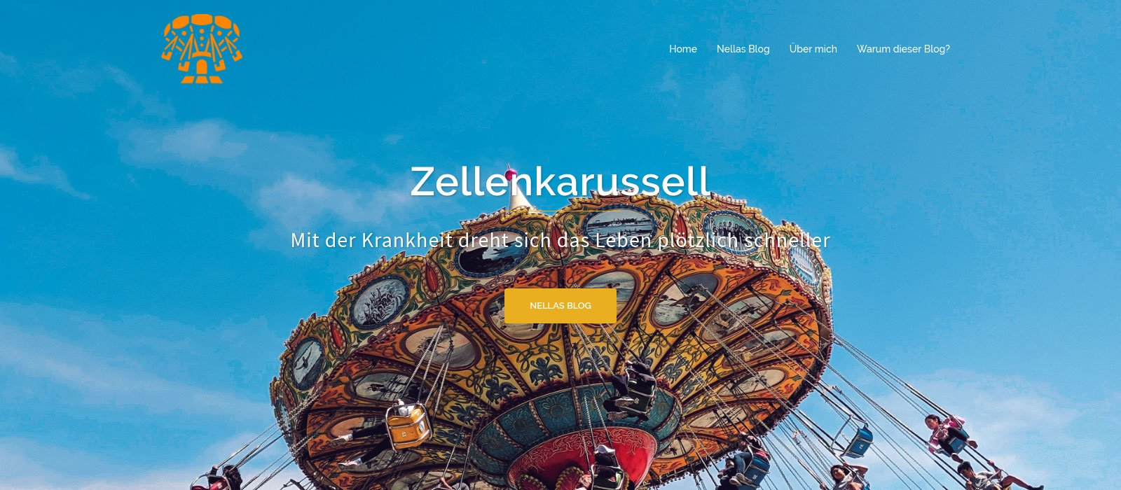 Screenshot des Blog Zellenkarussell.de